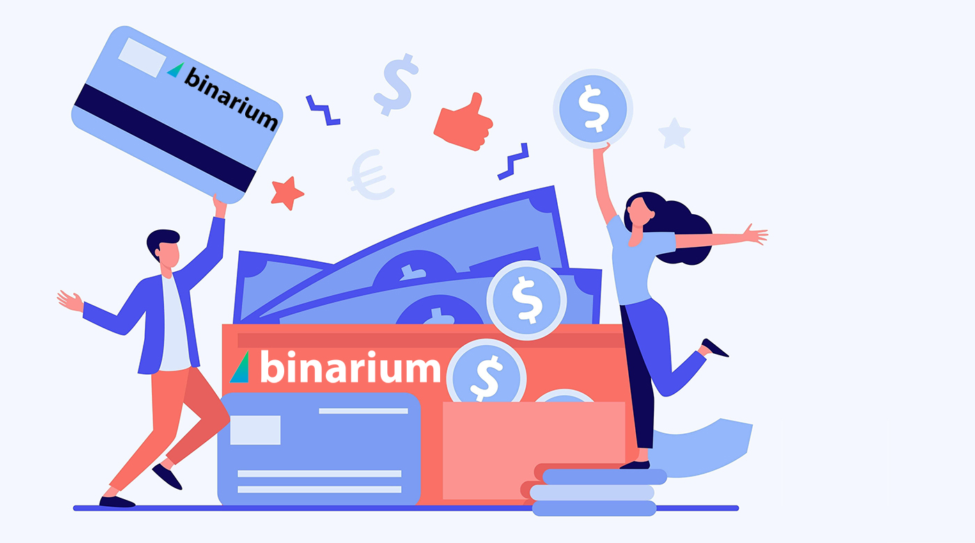 How to Open Account and Withdraw Money at Binarium
