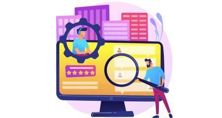 Como verificar a conta Binarycent
