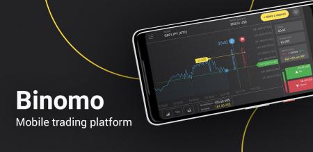 Como usar o aplicativo Binomo em telefones Android