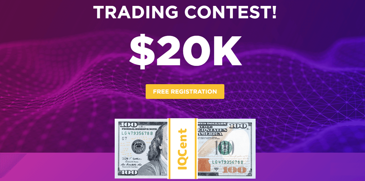 IQcent Trading Contest - Up to $20,000 Prize