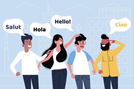 Suporte multilingue Quotex