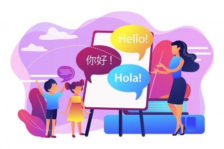 Suporte multilíngue Raceoption