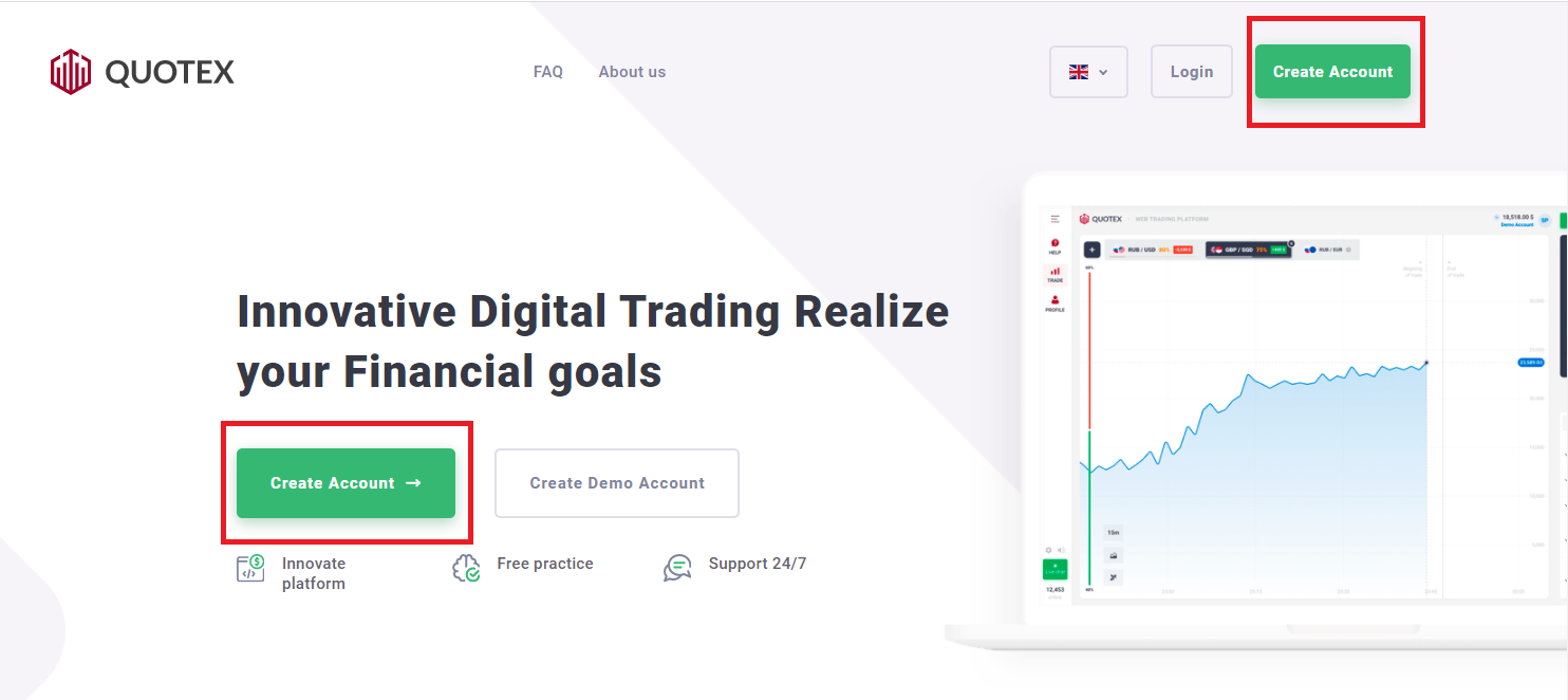 How to Sign Up and Deposit Money at Quotex