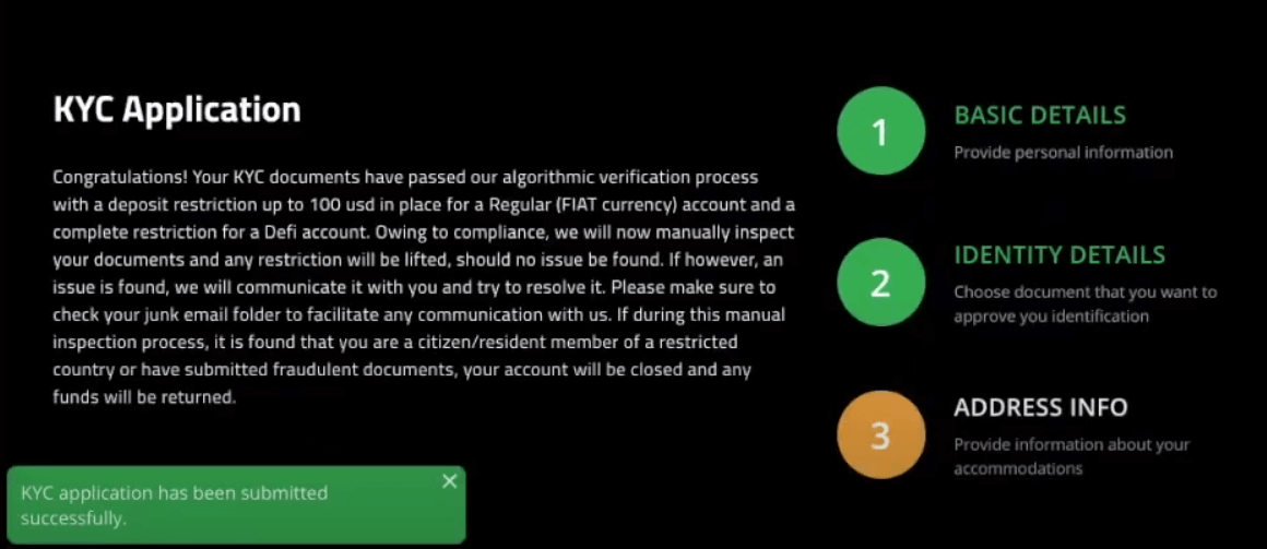 How to Verify Account in Spectre.ai